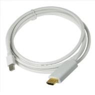 KanaaN Mini-DisplayPort zu HDMI 1080p Kabel 1,8 m - Video- und Audio-Übertragung - weiß