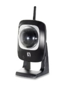 "LevelOne WCS-0020 - Network camera - PTZ - color - 1/4"" - audio - 10/100, 802.11b, 802.11g - DC 5 V"