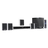 Panasonic SC-PT90EG-S 5.1 DVD Heimkinosystem (HDMI, Upscaler 1080p, DivX-zertifiziert, 330 Watt RMS) silber