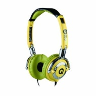 QOOpro LowRider Super Bass Stereo Headphone Color: Yellow