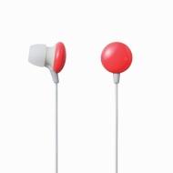 Elecom Ear Drops Series 3 Canal Type Hi-Fi Noise-Reducing Ear Buds(Designed in Japan) (Orange)