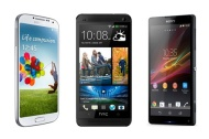 HTC One vs Galaxy S4 vs Xperia Z: a superphone group test