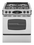 "Maytag 30"" Self-Clean Slide-In Gas Range"