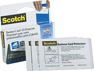Scotch - Self-sealing Laminating Pouches for Business Cards LS851G