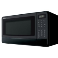 Sharp R-410LK - Microwave oven - freestanding - 28.3 litres - 1100 W - black