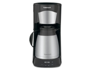 Cuisinart Black Programmable Coffee Maker with Thermal Carafe