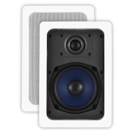 OSD Audio IW530 Custom Series In-Wall Speaker, Pair (Off-White, 2)
