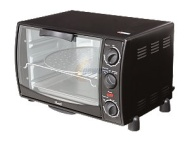 Rosewill RTOB-11001 22L 6 Slice Black Toaster Oven Broiler