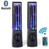 Soundsoul Wireless bluetooth Music Fountain Dancing Water Speakers/Apple Speakers(Black)