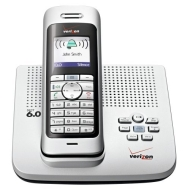 Verizon VZ-V300AM-2 DECT 6.0 Cordless Phone with Enhanced Features (Silver)