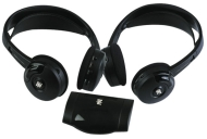PYLE View Series PLVWH6 - Headphones ( ear-cup ) - wireless - infrared
