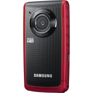 Samsung PocketCam W200 Rugged Full HD 1080p Pocket Camcorder - Red HMX-W200RN