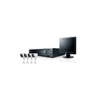 Samsung SDE-3170 4 Channel + 4 x Cameras + 17 inch LCD Monitor All-in-One System
