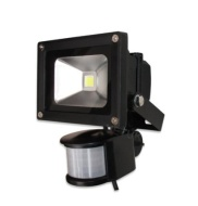 Security 10w Super Low Energy Saver Flood Light PIR Sensor Movement Detector Floodlight LED Only uses 10w but gives 100w Light SMD LED Outdoor Home Fl