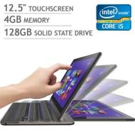 Toshiba Satellite U925t-S2120 Ultrabook - 3rd generation Intel Core i5-3337U 1.8GHz, 4GB DDR3, 128GB SSD, Backlit Keyboard, 12.5 IPS Touchscreen Displ