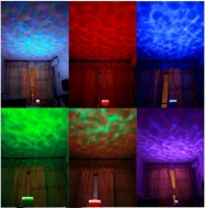 Ocean Wave Light Projector Speaker for Blackberry tablet