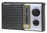Sony Icf-f10 Fm/am Two 2 Band Am Fm Portable Battery Transistor Radio