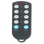 X10 4 Unit Credit Card Controller Key Chain Remote KR22A