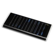 Black Solar charger, mobile phone charger, cell phone charger