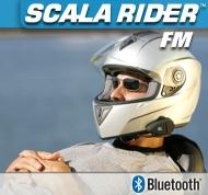 Cardo - Kit oreillette avec Radio FM - Scala Rider FM sans fil headset oreillette bluetooth pour moto / 2 roues