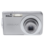 Nikon Coolpix Digital Camera - Silver (S202)