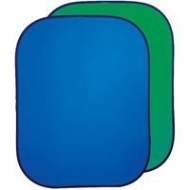 Photoflex 5' x 7' Flexdrop 2, Dual Sided Collapsible Disc Chroma Key Blue & Green Background