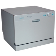 EdgeStar Portable Countertop Dishwasher - Six Place Settings
