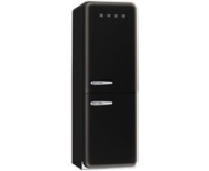Smeg FAB32QNE_BK 50's Style Retro Fridge Freezer - Right Hand Hinge In Black