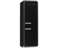 Smeg FAB32QNE_BK 50's Style Retro Fridge Freezer - Right Hand Hinge In Black