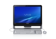 "VAIO JS270J/Q Desktop Computer - 2.80 GHz - All-in-One (20"" Display - 4 GB RAM - 500 GB HDD - nVidia 1.98 GB - Wi-Fi - Bluetooth - Windows Vista Home"