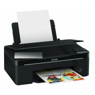 Epson Stylus SX130 - Multifunction ( printer / copier / scanner ) - colour - ink-jet - printing (up to): 28 ppm (mono) / 15 ppm (colour) - 100 sheets