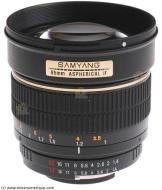 Samyang 85 mm / F 1,4 ASP IF AE