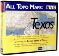 iGage All Topo Maps Texas Map CD-ROM (Windows)