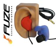 FUZE Custom Earphones by EarFuze