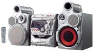 JVC MX-GT700 - Mini system - radio / 3xCD / dual cassette - metallic gray