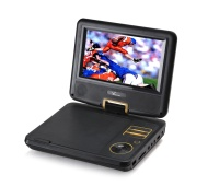 Verezano PDVD-190B Swivel Screen 7-inch Portable DVD Player