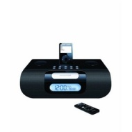 iLuv I177 Stereo Audio Dual Alarm Clock - Black
