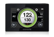 Coyote NC DE 3M Cloud basiertes interaktives Verkehrsinformationssystem schwarz
