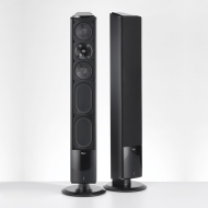 Icon X Series XF-48 Floorstanding Speaker (Active 2-way - Cable - 110W RMS / 200W PMPO - Black)