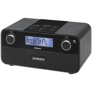 ROBERTS Blutune 50 2.1 Bluetooth DAB/DAB+/FM Digital Radio, Black