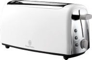 Russell Hobbs 4 slice Long Slot White Toaster 14920