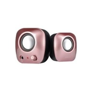 Speedlink Snappy Stereo Speakers - Pink