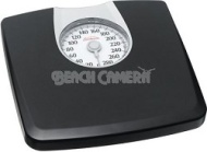 Sunbeam Health o Meter SAB602DQ-05 Dial Scale, Black with Silver Accent