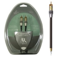 Acoustic Research PR101 Pro Series Video Cable Gold RCA to RCA (6 feet) (Discontinued by Manufacturer)