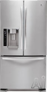 LG Freestanding Bottom Freezer Refrigerator LFX25975