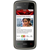Nokia 5228 Black refurbished Refurbished on Virgin Pay As You Go with £10 airtime credit