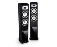 Roth OLi3 2.5-Way Left/Right Channel Speakers, Black
