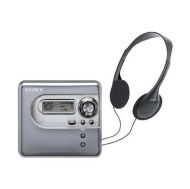 Sony Hi-MD Walkman MZNH600DKIT - Hi-MD recorder - silver