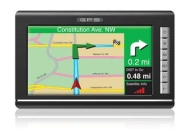 TeleType 710060 WorldNav Truck Routing 7 Inch Portable GPS Unit