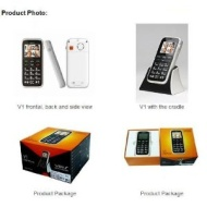 Voiis V1 - Big Button Handset Sim Free Mobile Phone
